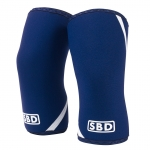 Knee sleeves Blue/white medium image